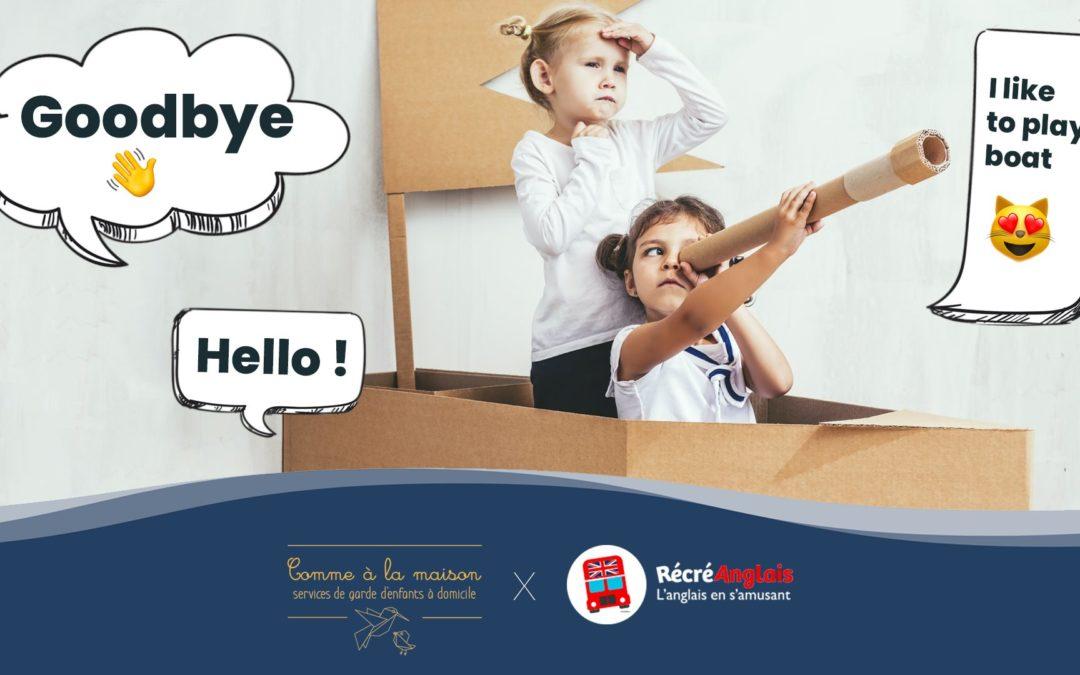 Atelier d'anglais gratuit